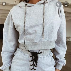 TIGERMIST hoodie with chains